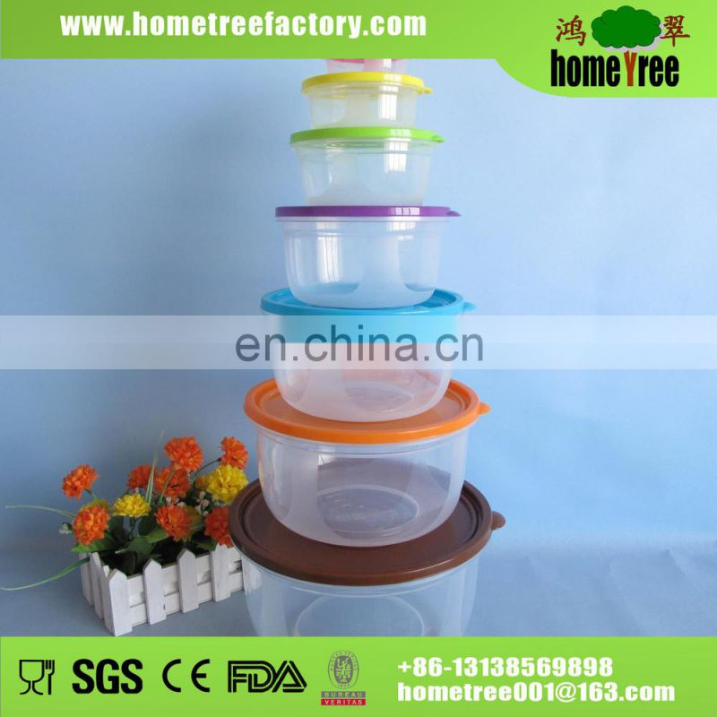 2.13L Green Apple Shape Rotate Sectional Plastic Food Container