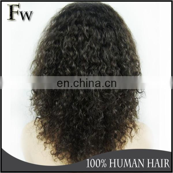 High quality short curly wig for black women