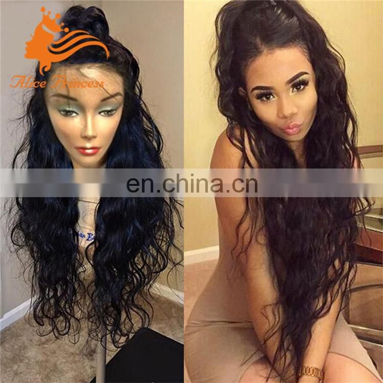 curly human hair remy wigs for black woman 100 human hair full lace wig can be parted anywhere wig