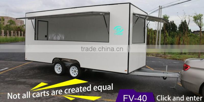 hot sales best quality sofa food trailer custom food trailer toliet food trailer
