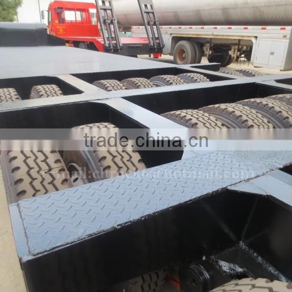 CLW 3 line six-axis 100ton Low bed Semi trailer for sale