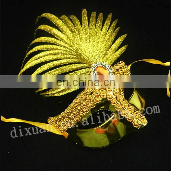 (DX-JQ-0334)HIGH QUALITY RED VENETIAN MASK
