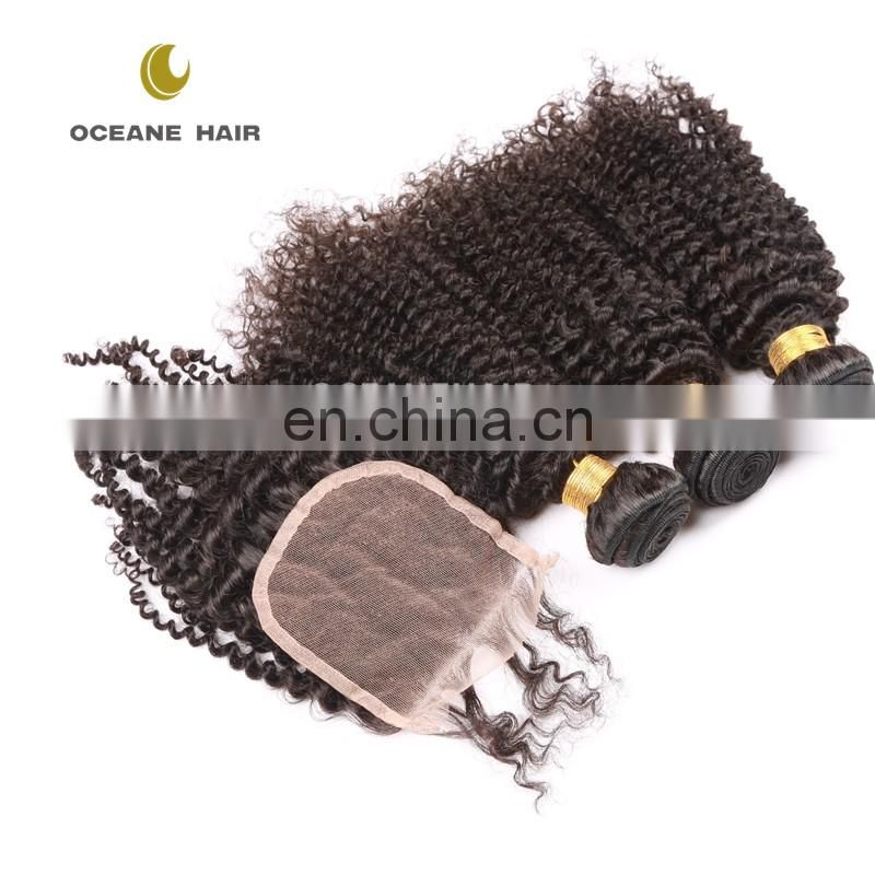 New styles durable cheap no tangle brazillian hair bundles with closure