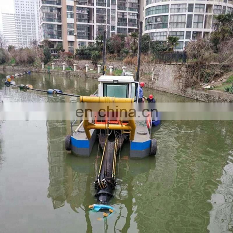 Top Seller Hydraulic Cutter Suction Dredger with World Famous Engine