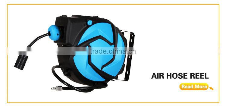 The best price retractable air hose reel with 20+2m PVC hose