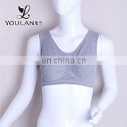 Made in China Popular Female White Ribbon School Girl Bra