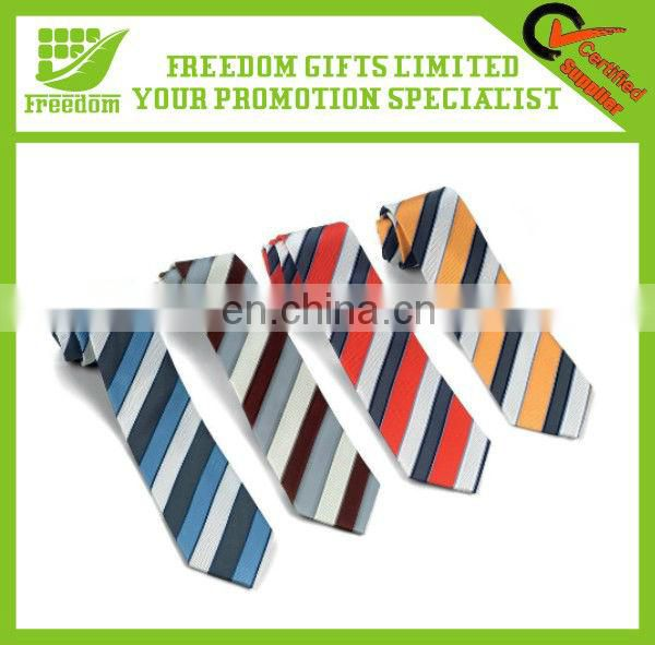 Promotional Good Quality Woven Black Necktie