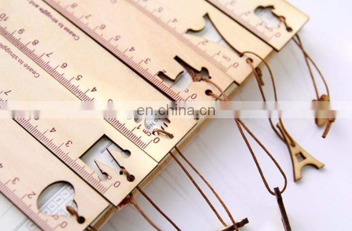 DIY Crafts Wood Ruler 6 inches