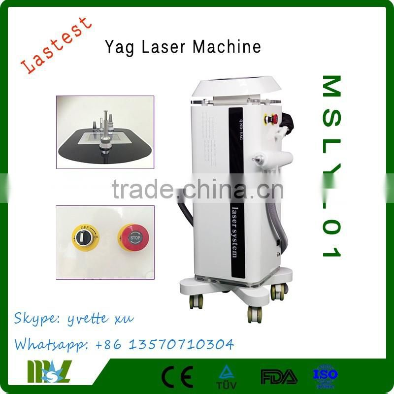 2017MSLYL02-10 New Design Laser Tattoo Removal MachineLaser Machine With Factory Price