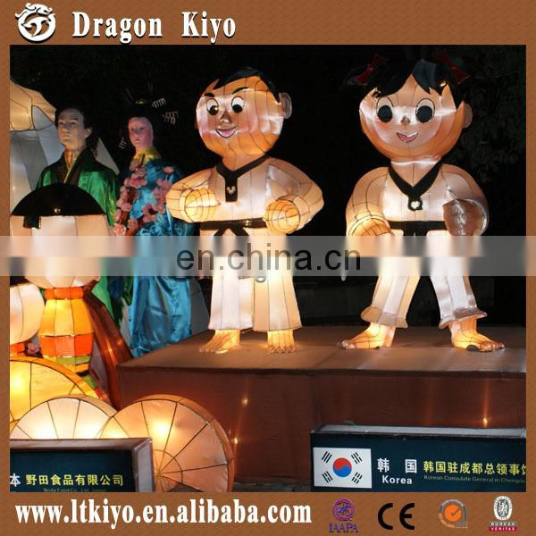 2016 led light animals paper lantern for children lighting amusement park