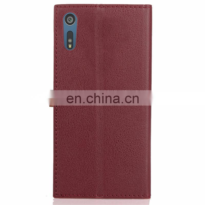 Professional for Sony Xperia XZs PU case for wholesales,leather tpu pc phone case