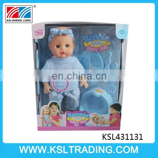 nice design 14 inch pee cheap reborn real life baby dolls with IC