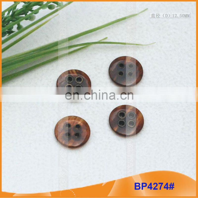 Polyester button/Plastic button/Resin Shirt button for Coat BP4274