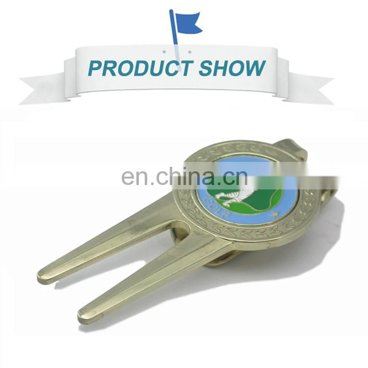 Great quality new retaractable metal golf pitch repair divot tool