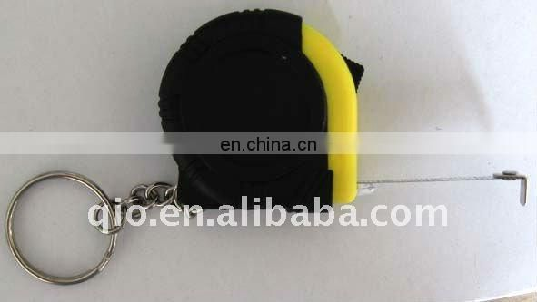 pocket mini tape measure with keychain