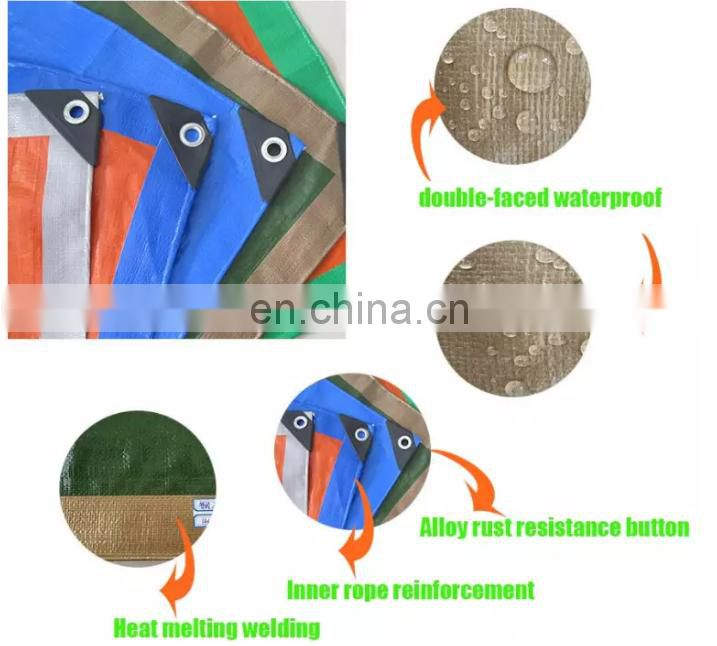 China Hot Sale HDPE Waterproof PE Tarpaulin Covers