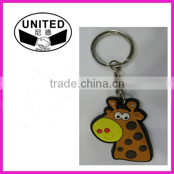 Verity of designs PVC RUBBER KEY CHAINS for sell