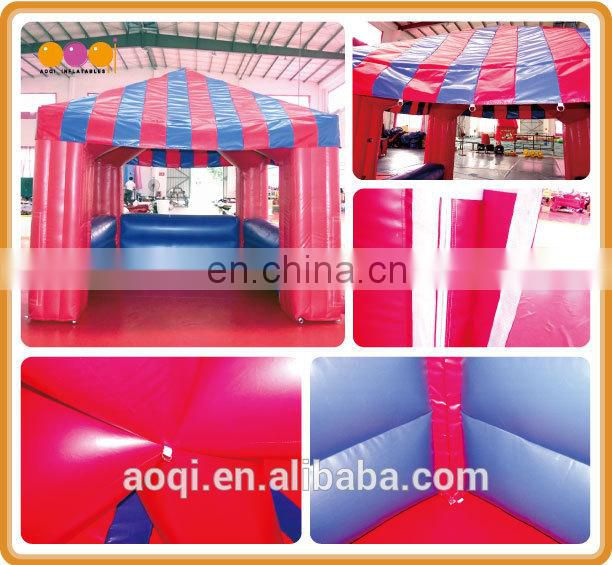 AOQI cheap price small inflatable booth tent for show for sale