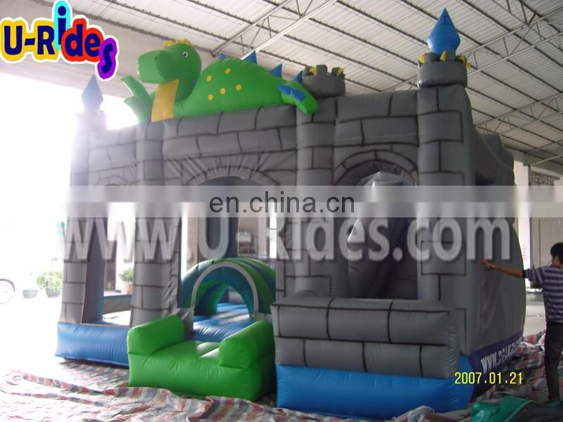 inflatable jumping castle and slide