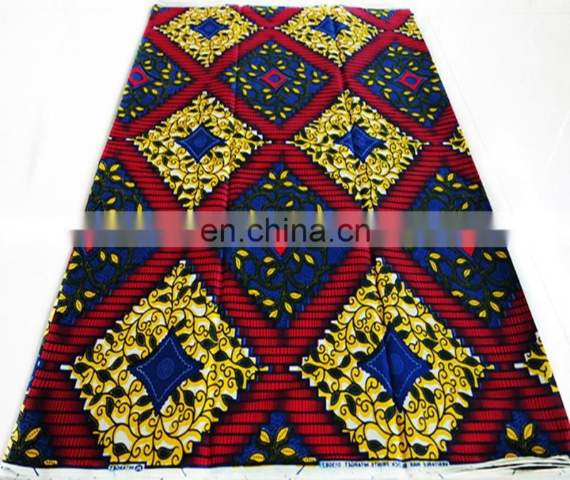 wholesale african wax print hitarget fabric african lace fabric for garment wax block print fabric