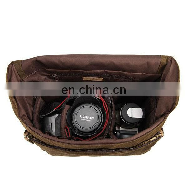 Strong Canvas Professional Camera Outdoor Shoulder Bag
