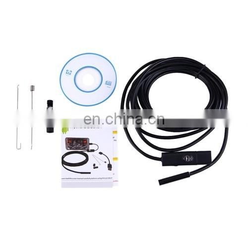 2 in 1 Micro USB & USB Endoscope Waterproof Snake Tube Inspection Camera