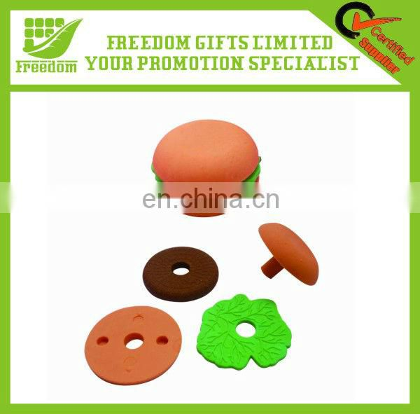 High Quality Custom Shaped 3D Eraser