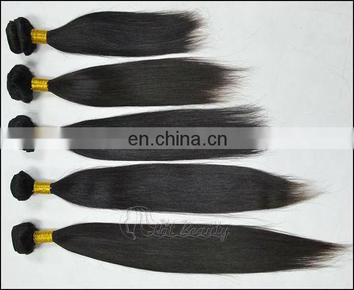 "Natural Straight Shining Hair 24"" inch Remy Brazilian Weave"