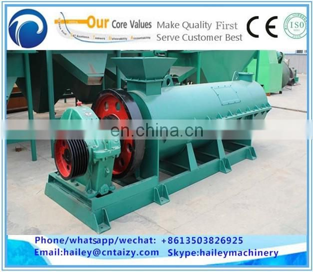 Organic ball fertilizer granulation polishing machine