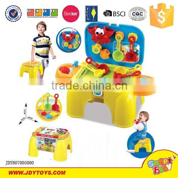 New beach sand toy with chair for baby XionCheng made in ChenHai