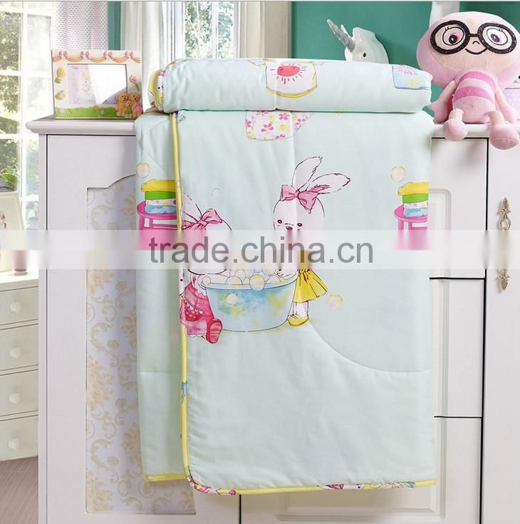 Factory luxury wholesale bright-coloured cartoon printed cotton twill fabric turkish bedding set /bed sheet/duvet cover/pillow