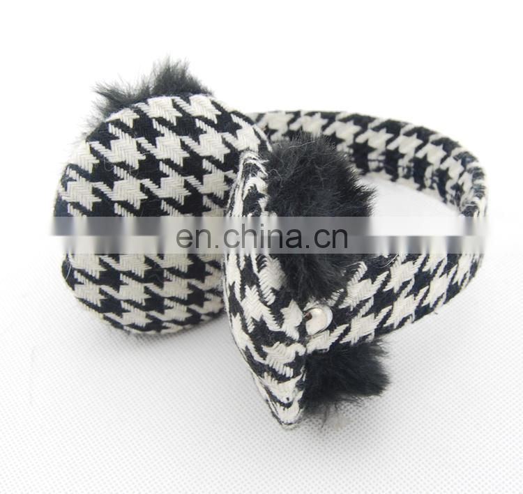 Foldable ear muff, accordion ear muffs,funny earmuff