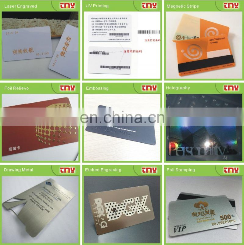 CMYK printing movies plastic VIP membership loyalty card