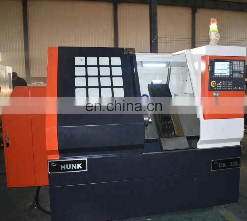 Slant bed turret lathe with living tool cnc lathe machine price Image