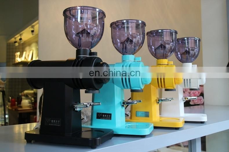 Grinding Machine Coffee Grinder Sieve Powder Feeder 4-Color Spot Strong Torque Grainy Uniform