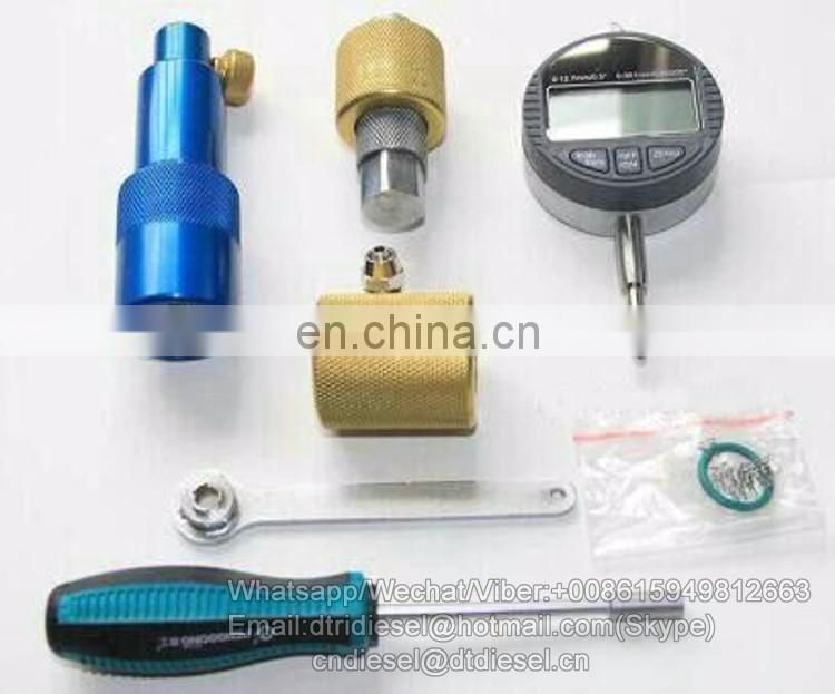 Removable travel measuring tools for 320D injectors