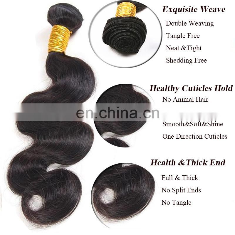 Wholesale 100% Human Hair Extensions Virgin Brazilian Hair Free Sample