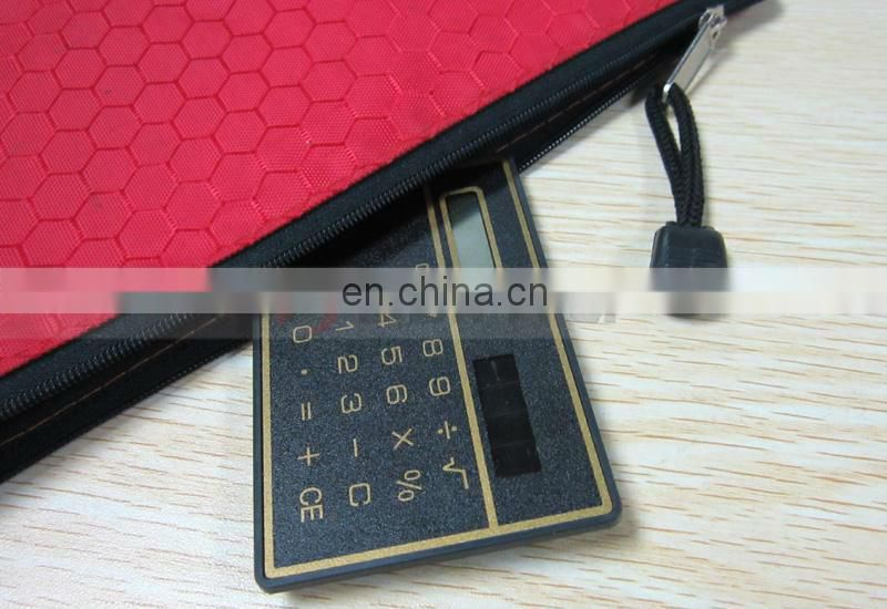 8 Digital Pouch Bag Portable Card Small Calculator