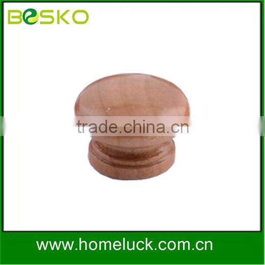 ODM different style furniture knob wooden birch knob and beech knob