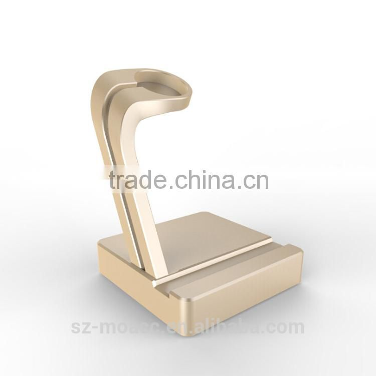 For Apple watch for iphone 6 stand metal,for apple watch holder aluminum