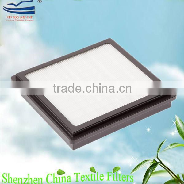 Vacuum cleaner air filter washable paper