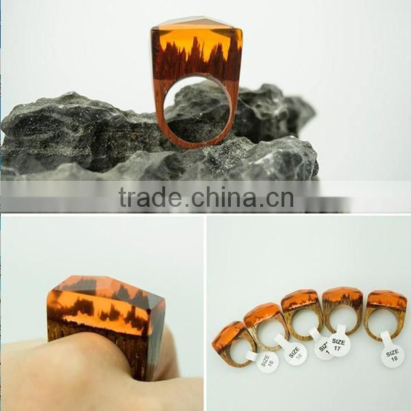 promotional items for 2016 handmade anniversary engagement secreted wooden rings