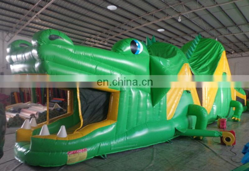 New inflatable hippo obstacle course