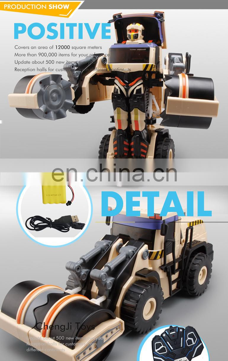 Hot sell funny engineering toys remote control truck