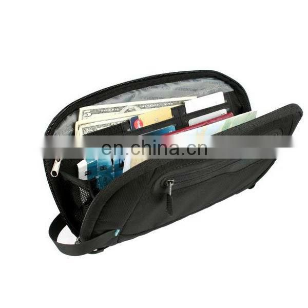 China Small Document Bag For Holding Passport And Keys
