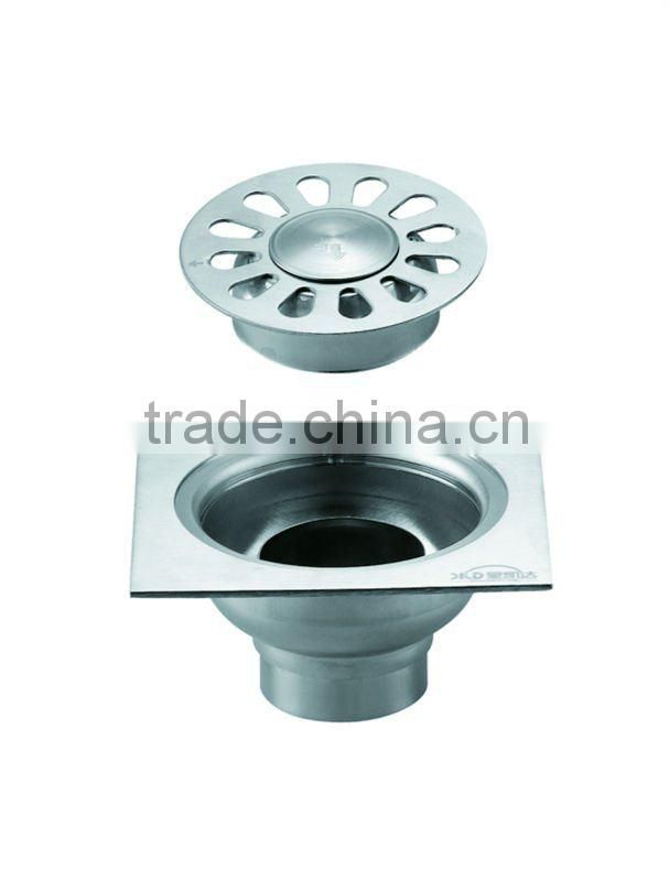 Stainless Steel Floor Drain B3102.hot sale item,with stainless steel bottom,dure use