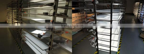 Factory price led 1200x300 ceiling panel light 48w CRI>80 90LM/W wall mounted led panel light