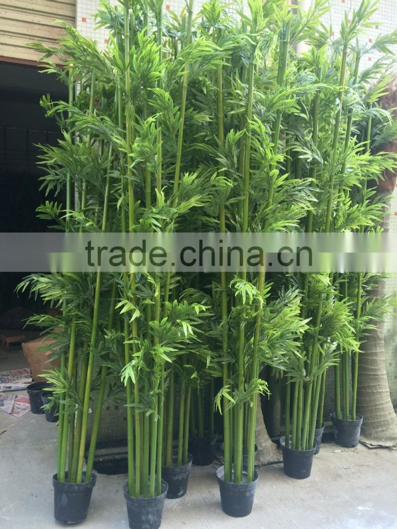 M-15 Customized outdoor 800cm Artificial bamboo for swimming pool wall landscape decoration artificial bamboo