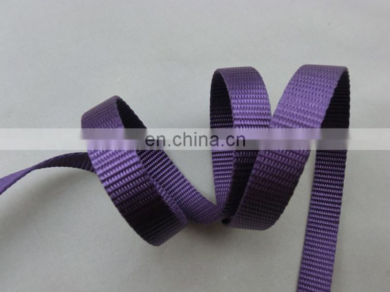 Custom wear-resisting UV resistance high strength nylon webbing strap 1.5cm
