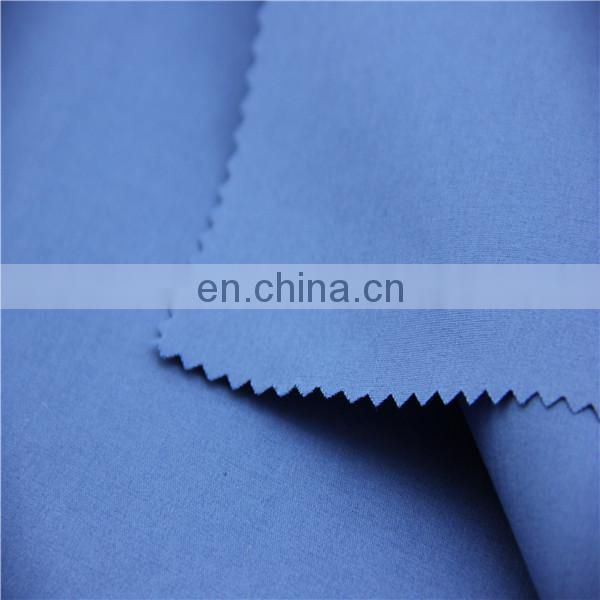 ployester cotton spandex plain dyed woven fabric
